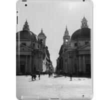 Rome - Piazza del Popolo iPad Case/Skin