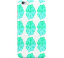 Turquoise Flowers  iPhone Case/Skin