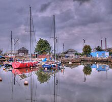 The Lock at Gravesend Marina by brianfuller75
