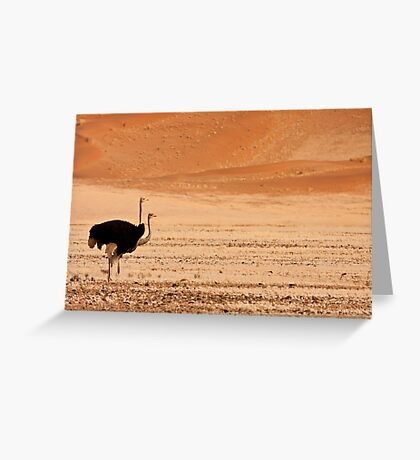 Two headed dune Greeting Card