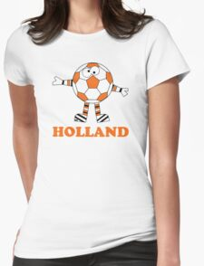 Holland Soccer Ball Sports Comic Netherlands T-Shirt