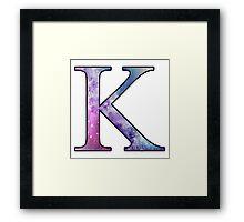 Kappa Galaxy Framed Print