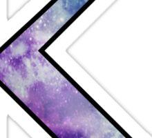 Kappa Galaxy Sticker
