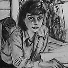 Carson McCullers by Jessica Hoeck