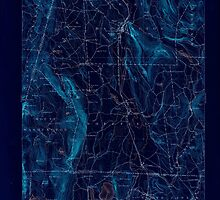 Massachusetts  USGS Historical Topo Map MA Sheffield 353022 1897 62500 Inverted by wetdryvac