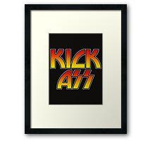 KICK ASS - Parody Framed Print