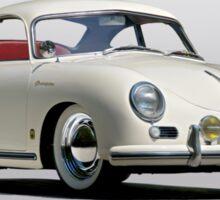 1955 Porsche 356 'Continental' Sticker