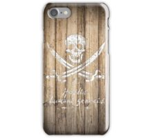 Calico Jack's problem. iPhone Case/Skin