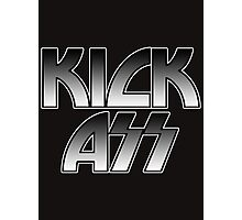 KICK ASS - Parody (Grey) Photographic Print