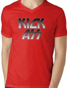 KICK ASS - Parody (Grey) Mens V-Neck T-Shirt