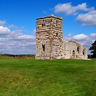 Old Knowlton Church by hootonles