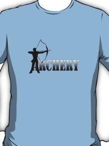 Archers summer games archery 2012 geek funny nerd T-Shirt