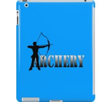 Archers summer games archery 2012 geek funny nerd iPad Case/Skin