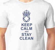 Keep Calm, Stay Clean Unisex T-Shirt