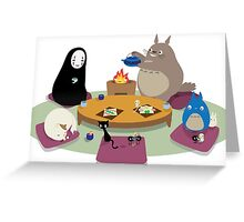 Studio Ghibli Tea Time Greeting Card