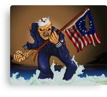 Sailor Eddie Canvas Print