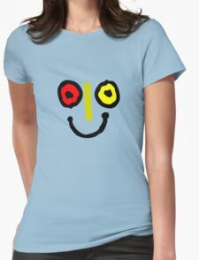 Bahamas goombay punch face geek funny nerd Womens Fitted T-Shirt