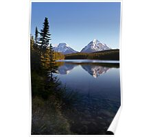 Hector lake Poster