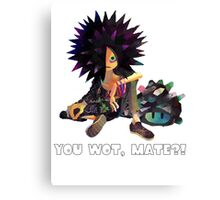Splatoon! Spyke  - YOU WOT, MATE?! Canvas Print