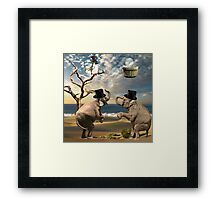 Be Silly... Framed Print