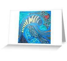 Huia Bird - Extinction Greeting Card