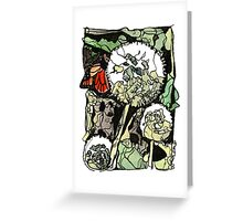 Fairy clocks Greeting Card