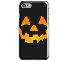 Happy Jack-o-Lantern iPhone Case/Skin