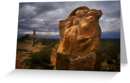 Outback Sculpture - Broken Hill by Hans Kawitzki