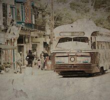 Vintage Streetcar by Steve Silverman
