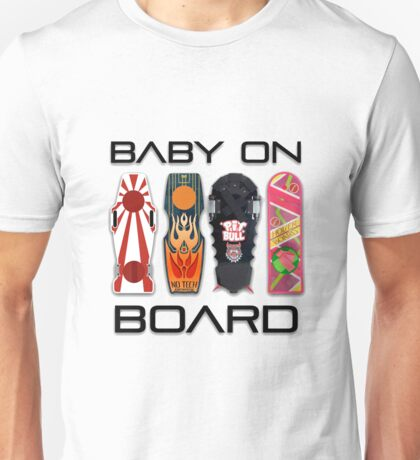 Baby on (Hover) Board Unisex T-Shirt