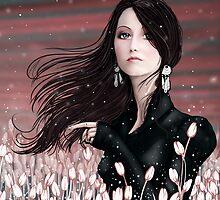 snowy pollen  by Alena Khandryka