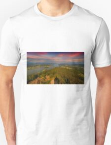 Lake Wörthersee Aerial T-Shirt