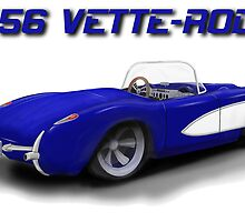 '56 Vette-Rod by kenmo