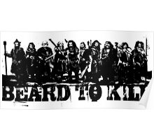 Beard To Kill! Poster