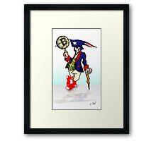 New England Mascot Framed Print