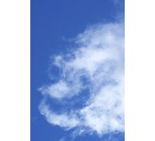Cloud Angel Photographic Print