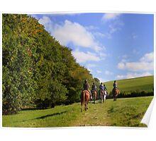 Exmoor: Pony Treking Poster