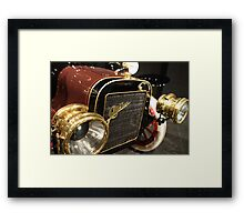 The Old Cadillac Framed Print