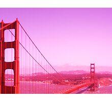Golden Gate Redness Photographic Print