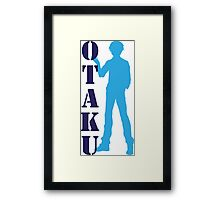 Otaku male Framed Print