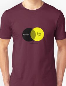 Beekeeping venn diagram geek funny nerd T-Shirt