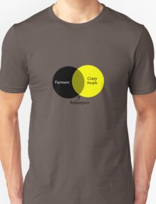 Beekeeping venn diagram geek funny nerd Unisex T-Shirt