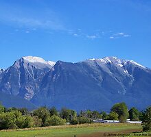 Mission Mountains (St. Ignatius) by rocamiadesign