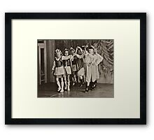 ♥ ♥ ♥ ♥ My Krakowiak Dance with  ♥ ♥ ♥ ♥ beautiful blonde Ewa ♥ ♥ ♥ ♥ .Brown Sugar Live  Book Story.1961. Views (1169) favorited by (3) . Time and feelings to remember ! My wonderful memories ! Framed Print