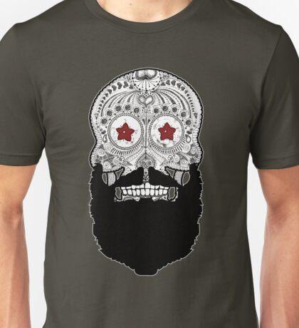 Skull Beard Unisex T-Shirt