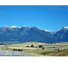Mission Mountains 2 Photographic Print