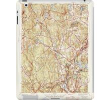 Massachusetts  USGS Historical Topo Map MA Sterling 352233 1946 31680 iPad Case/Skin