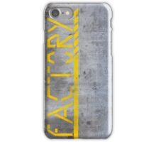 Factory iPhone Case/Skin