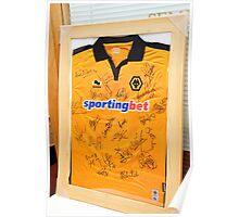 Wolverhampton Wanderers shirt_9689 Poster