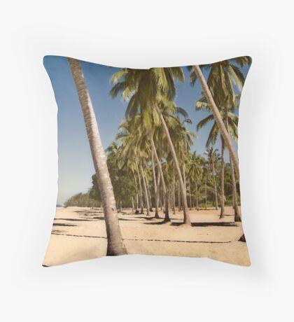 Coconut Palms - San Pancho Throw Pillow